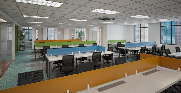 Private Office at Frabelle Corporate Center, Salcedo Village, Makati