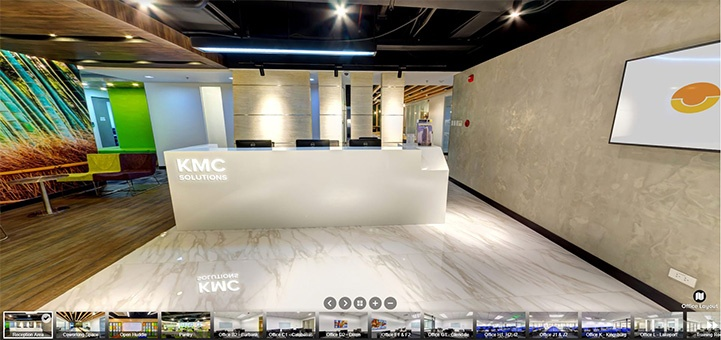 5th Floor V Corporate Centre Reception Area