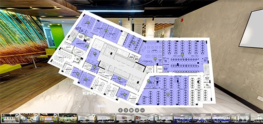 5th Floor V Corporate Centre Office Layout