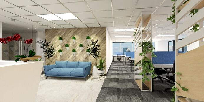 Union bank office space