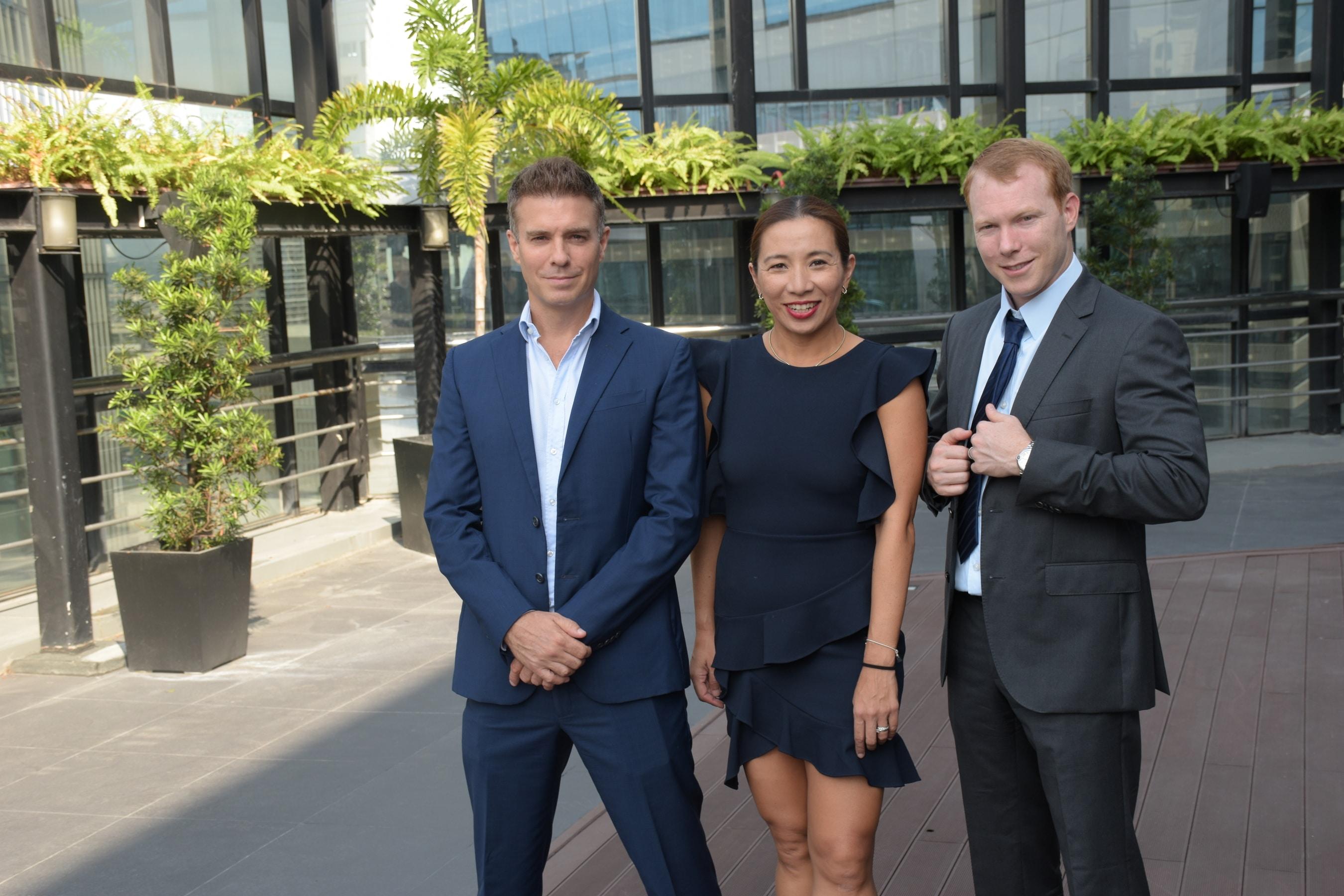 KMC Executives (Gregory Kittelson, Amanda Carpo, and Michael McCullough