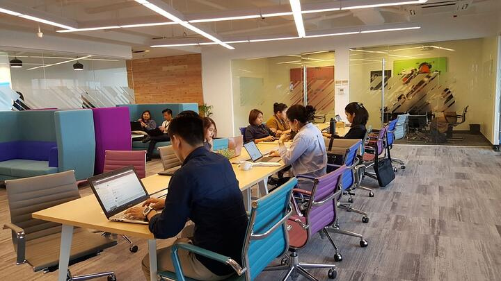 KMC's Coworking Space in Cyber Sigma