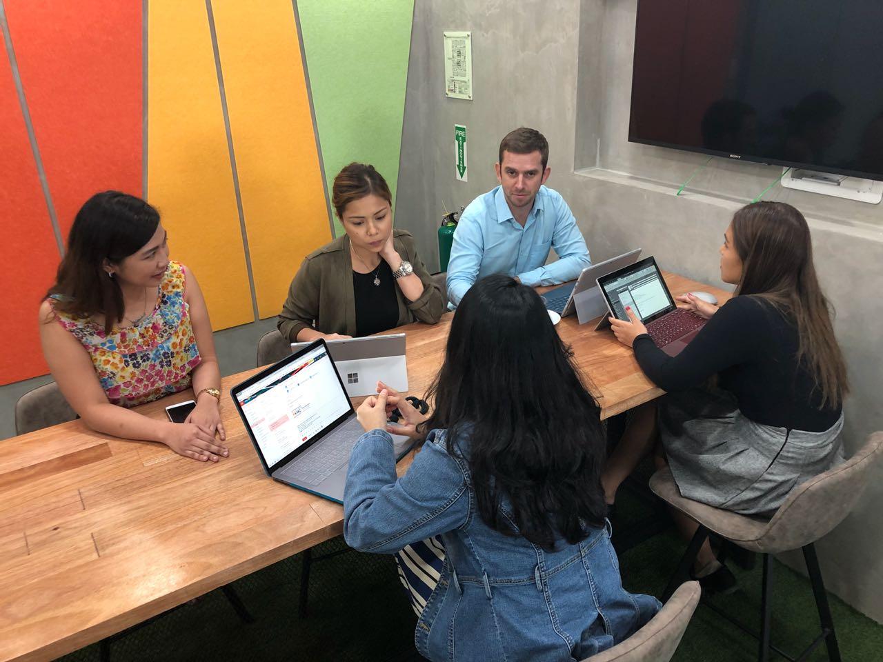 Sales Discussion at KMC Sheridan