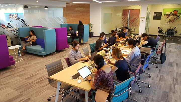Coworking Space at Cyber Sigma